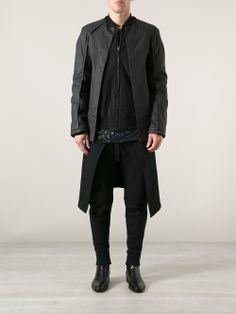 Gareth Pugh leather effect jacket #wonderfulstore