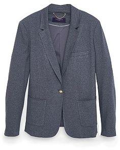 Womens slate blazer from Mango - £59.99 at ClothingByColour.com