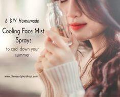 6 DIY Homemade Hydrating Face Mist Sprays
