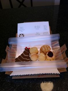2011 Christmas Cookie Mailers - Interior
