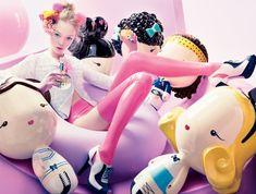 """World of Harajuku Lovers Fragance"" Campaign:"