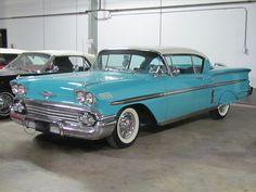 1958 Chevy Impala, Chevrolet Impala, Impala For Sale, Chevrolet Caprice, Ford Classic Cars, Corvettes, Zoom Zoom, Lowrider, Car Stuff
