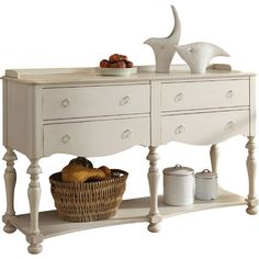 Great deals on new furniture, particularly Beachcrest Home Sideboards Buffets. Buffet made by Beachcrest Home. Sideboard Table, White Sideboard, Buffet Cabinet, Solid Wood Furniture, Large Furniture, Dining Room Furniture, Painted Furniture, Furniture Storage, Dovetail Furniture