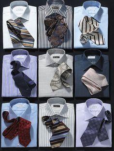 mens shirts and ties