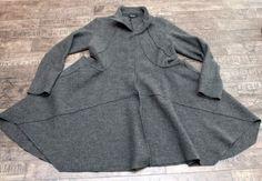 rundholz black label - Mantel Filz anthra - Winter 2014 - stilecht - mode für frauen mit format...