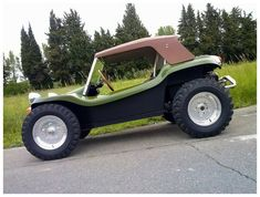 Dune Buggy military green.