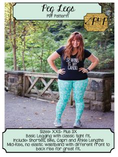 Looking for a Patterns for Pirates dressmaking pattern to sew? Check out these Patterns for Pirates Sewing Patterns Free, Clothing Patterns, Free Pattern, Basic Leggings, Plus Size Leggings, Sewing Pants, Sewing Clothes, Patterns For Pirates, Dress Making Patterns