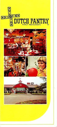 Loved Dutch Pantry restaurant in the 60's and 70's!