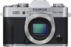 Best Buy: Fujifilm Mirrorless Camera (Body Only) Silver 16542359 Nikon, Sony, Camera Prices, Toy Camera, Camera Equipment, Image Processing, Cmos Sensor