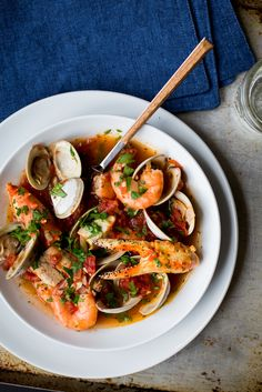 Cioppino is an Italian-American seafood stew first developed in San Francisco in the late 1800s. Originally made by Italian fisherman who had settled in the region, it was crafted directly on fishi...
