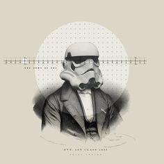 Star Wars sophistication by Nick Agin