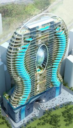In Dubai, every hotel room has a pool......