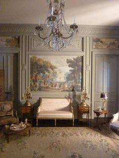 Louis-xvi-drawing-room for GRANT French Interior Design, Classic Interior, Neoclassical Interior, Deco Rose, French Style Homes, Traditional Interior, French Decor, Dream Decor, Beautiful Interiors