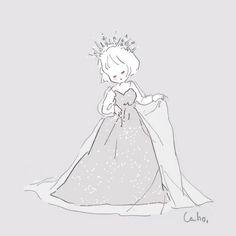 Cute Kawaii Drawings, Kawaii Art, Simple Girl, Kawaii Wallpaper, Drawing Reference, Cute Art, Comic Art, Aurora Sleeping Beauty, Cute Animals