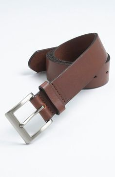 Trafalgar 'Sportivo' Leather Belt available at #Nordstrom