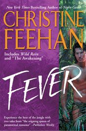 Fever by Christine Feehan. First of the Leopard series. Paranormal/shapeshifter romance by the reigning queen of paranormal romance.