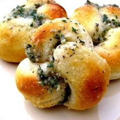 Simple Appetizers...we made the parmesan bread knots and they were great!