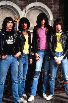 ImageFind images and videos about ramones and the ramones on We Heart It - the app to get lost in what you love. Joey Ramone, Music Pics, Music Love, Rock Music, My Music, Music Stuff, Ramones, Punk Rock, Historia Do Rock
