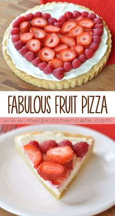 Nothing says Valentine's Day like fruit pizza.