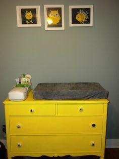 Baby Kellogg's Gray and Yellow Woodland Nursery | Project Nursery
