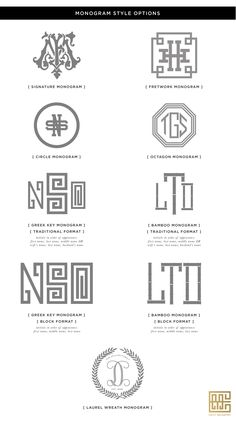 Monogram Designs available   Emily McCarthy Shoppe
