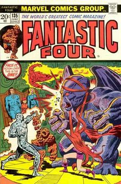 Fantastic Four # 135 by John Buscema & Mike Esposito