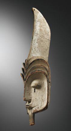 """ Masque, Kota, Gabon (haut. 99 cm) """