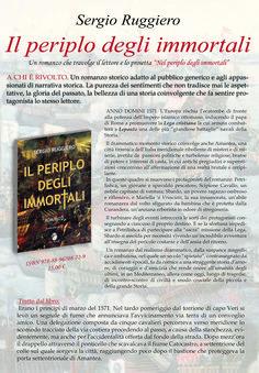 Vacanze in Calabria. Novità editoriali con 'Il Periplo' degli Immortali di Sergio Ruggiero di Amantea editore Mannarino
