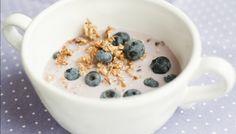 Frokostblanding, båbær, yoghurt