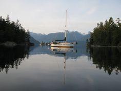 Prideaux Haven, Desolation Sound, British Columbia Gambier Island, Sunshine Coast Bc, Powell River, Bowen Island, Victoria British Columbia, Vancouver City, Boating, West Coast, Beaches