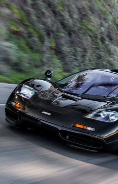McLaren F1 Only 106 cars were manufactured, 64 of which were the standard street version.