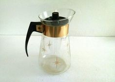 Vintage Corning Coffee Carafe Maxwell House by TazamarazVintage