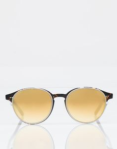 218c77d1a5fae Oversized tortoise frames from Garrett Leight x Thierry Lasry. A. Kinney  Court
