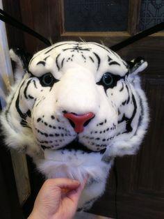 Bolso de tigre blanco