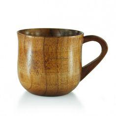 Wooden Tea Cup With Handle (Set of Japanese Tea Cups, Moscow Mule Mugs, Drinking Tea, Tea Set, Handle, Tableware, Beverage, People, Mugs