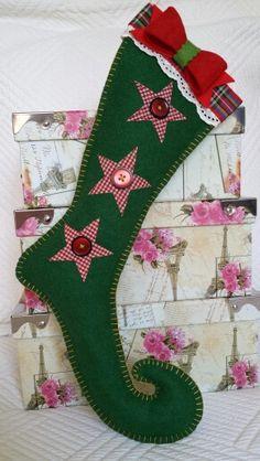 Manualidades para navidad on pinterest navidad - Manualidades con fieltro para navidad ...