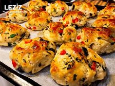 Pizza Flavored Vegetable Pastry - My Delicious Food - I declared this week as a. - Pizza Flavored Vegetable Pastry – My Delicious Food – I declared this week as a pastry week an - Donut Recipes, Cookie Recipes, Snack Recipes, Donut Store, Turkish Recipes, Ethnic Recipes, Pizza Flavors, Snacks, Kitchen Art