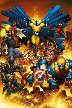 New Avengers - Joe Quesada