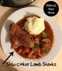 Lamb Shanks Slow Cooker Without Red Wine Recipe