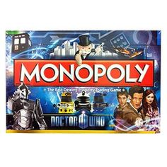 Doctor Who 11th Doctor Monopoly Game « Game Searches
