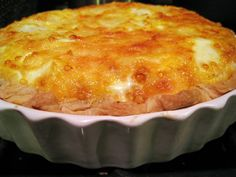 The Best Quiche Ever... I need to make quiche someday, or as my dad calls it... Egg pie