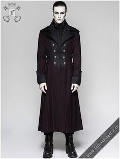 Transser Mens Blazer Big and Tall Gothic Tailcoat Steampunk Jackets Men Long Formal Gothic Victorian Coat