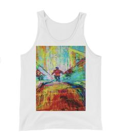Buy unique print-on-demand products from independent artists worldwide or sell your own designs at the drop of an image! Online Printing, Tank Man, Tank Tops, Simple, Colors, Unique, Stuff To Buy, Design, Fashion