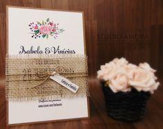 Convite Isabela & Vinícius