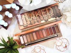 EXCLUSIVE FIRST LOOK at the Urban Decay Naked Heat Palette - with swatches!