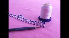 Tatting Bracelet, Tatting Jewelry, Chrochet, Knit Crochet, Beading Patterns, Crochet Patterns, Knit Shoes, Crochet Videos, Knitted Shawls