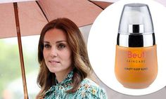 According to Grazia , the pregnant royal is a huge fan of a little-known organic face oil that's packed with Caribbean coral.