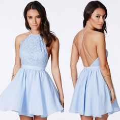 Cheap Backless Lace Prom Dresses Party Criss Cross Straps Short Graduation Dress Sleeveless Spring Collection Mini Homecoming Gown Online with $75.38/Piece on Hjklp88's Store | DHgate.com
