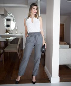 Casual Work Outfits, Office Outfits, Work Attire, Work Casual, Chic Outfits, Casual Chic, Casual Looks, Fall Outfits, Fashion Outfits