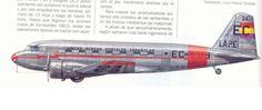 Spain - 1936. - GG - Douglas DC-2, de la Aviación republicana. Este aparato, un avión de transporte civil reconvertido en bombardero y con matrícula civil EC-EBB, lanzó bombas sobre el Arsenal militar de la ciudad de Ferrol el 15 de agosto de 1936 con el fin de dañar a los cruceros Canarias y Baleares, en construcción en el astillero de la Sociedad Española de Construcción Naval, sin lograr su objetivo.
